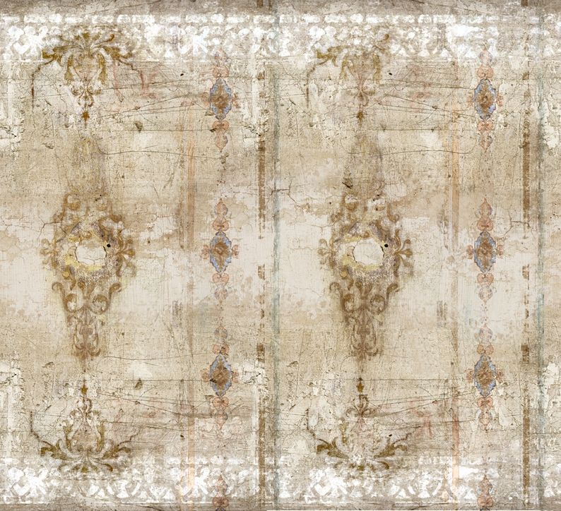 Wall And Deco Wallpaper Vintage Borgia Carta Da Parati