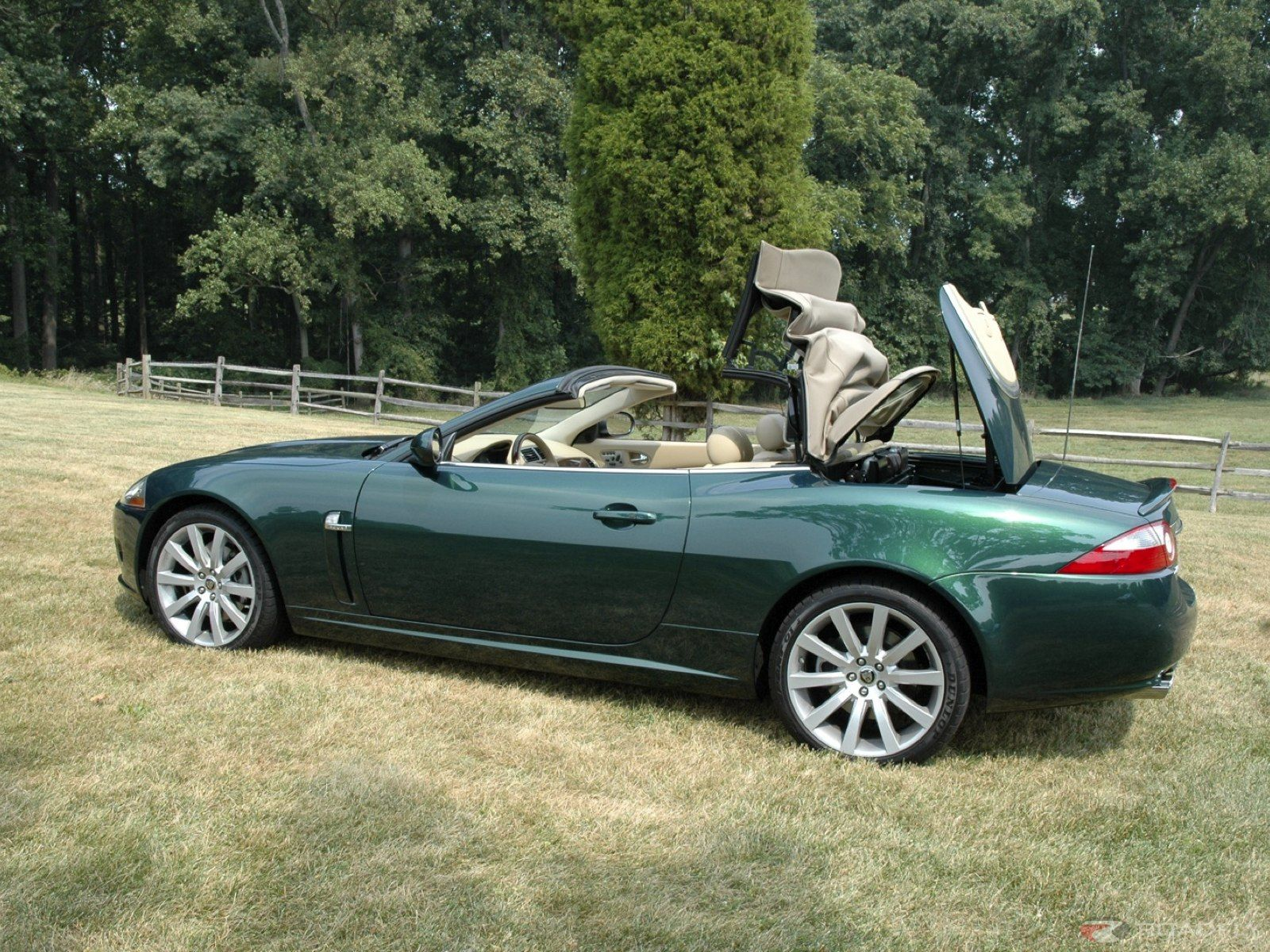 2007 Jaguar XK Convertible Car Review