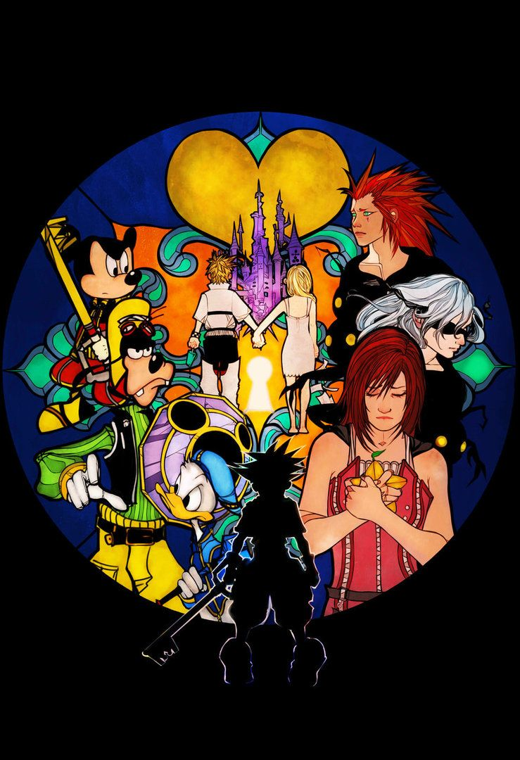 Kingdom Hearts II Ending + Credits + Secret Ending [HD