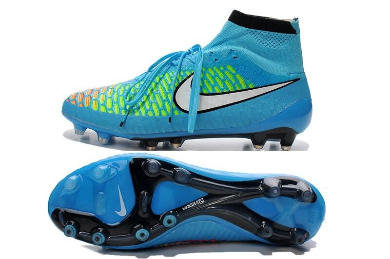 Super Nike Magista Obra FG Blue Green White 10499