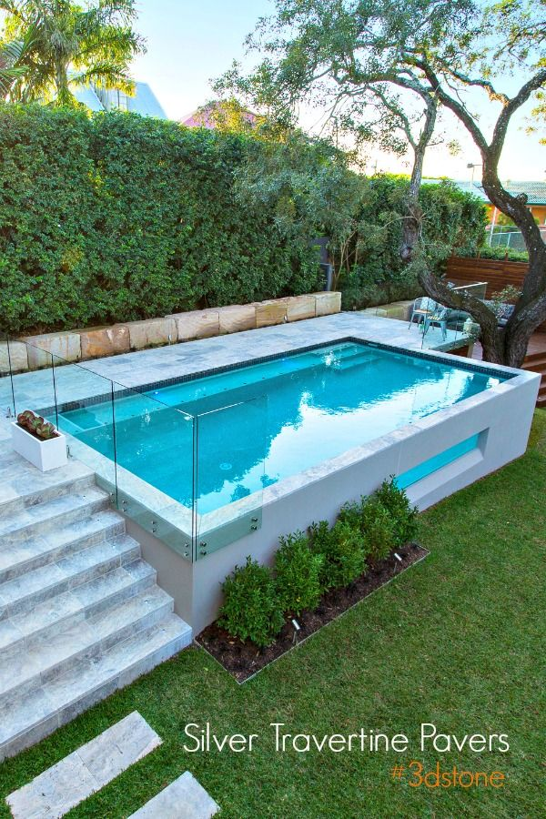 Gorgeous Elevated Pool Swimming Pools Backyard Small