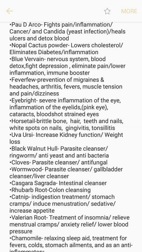 Alkaline herb listing 2 | Dr Sebi | Herbs list, Dr sebi herbs