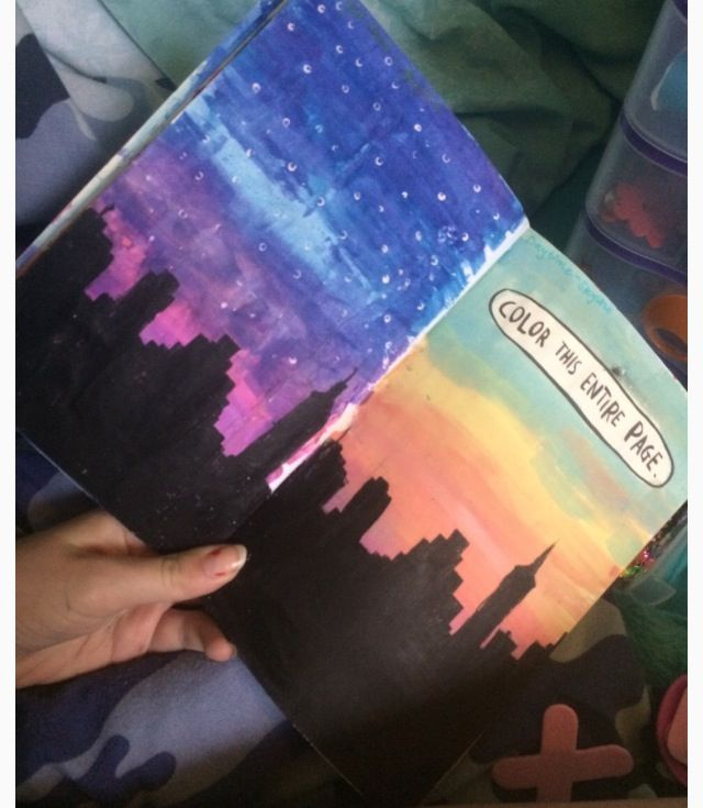 Color Journal Ideas : From my writing journal