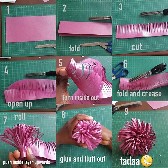 Log In Instagram Paper Flower Tutorial Simple Paper Flower Tissue Paper Flowers