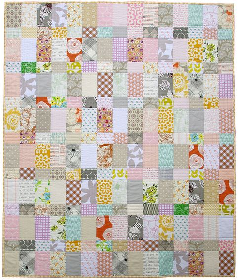Strips and Bricks Quilt III