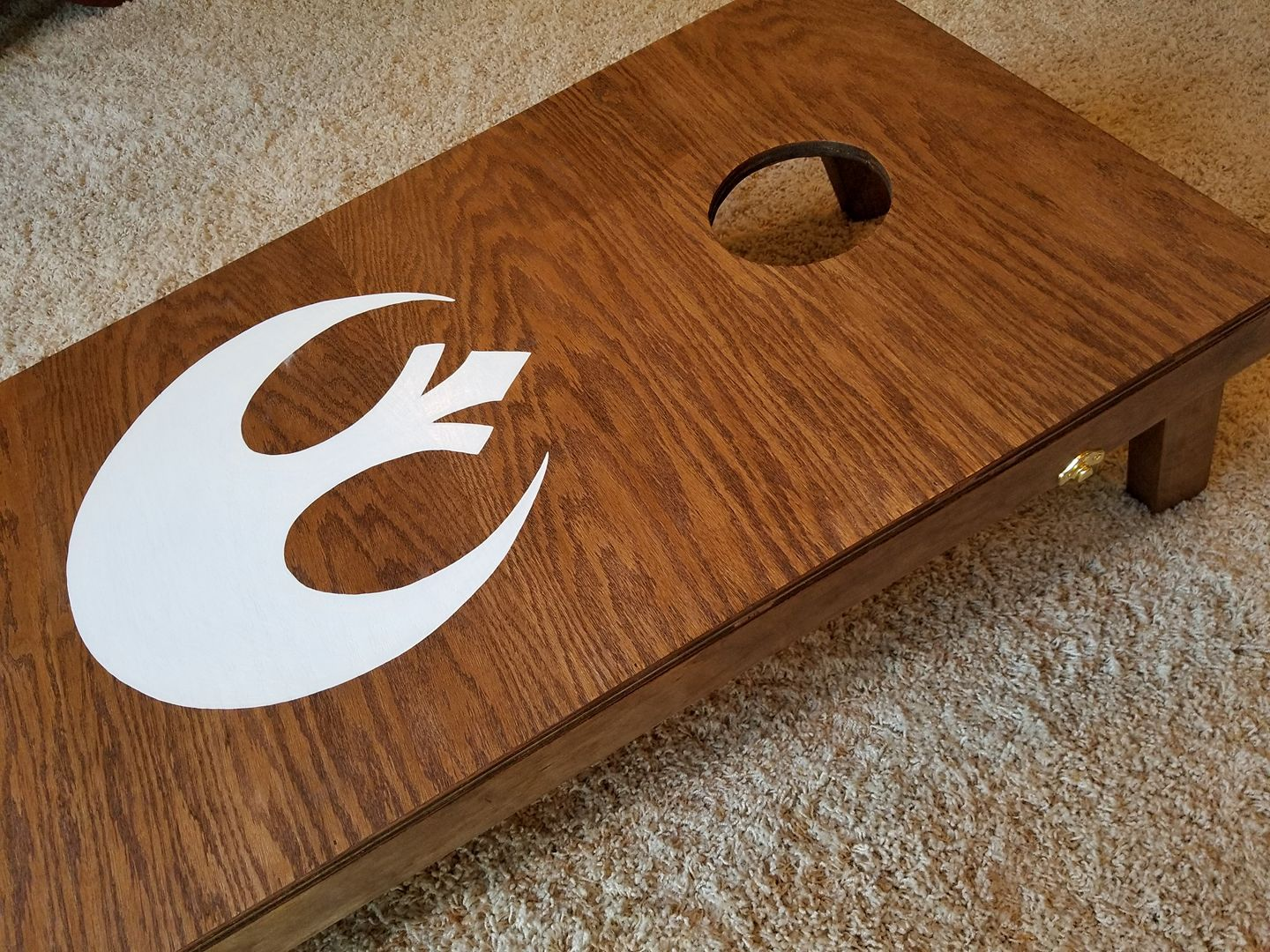 This One Was A First For Us Cornhole Boards Easier To Bullseye Than Womp Rats With Your T16 Cornhole Boards Cornhole Woodworking Clutch places to find a pool of womp rats are at house parties. www pinterest ph