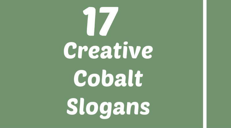 Cobalt Slogans Element Slogans Pinterest Slogan Cobalt And