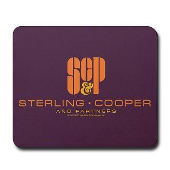 Sterling Cooper & Partners Logo Mousepad