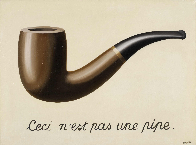 Rene Magritte La Trahison Des Images Ceci N Est Pas Une Pipe