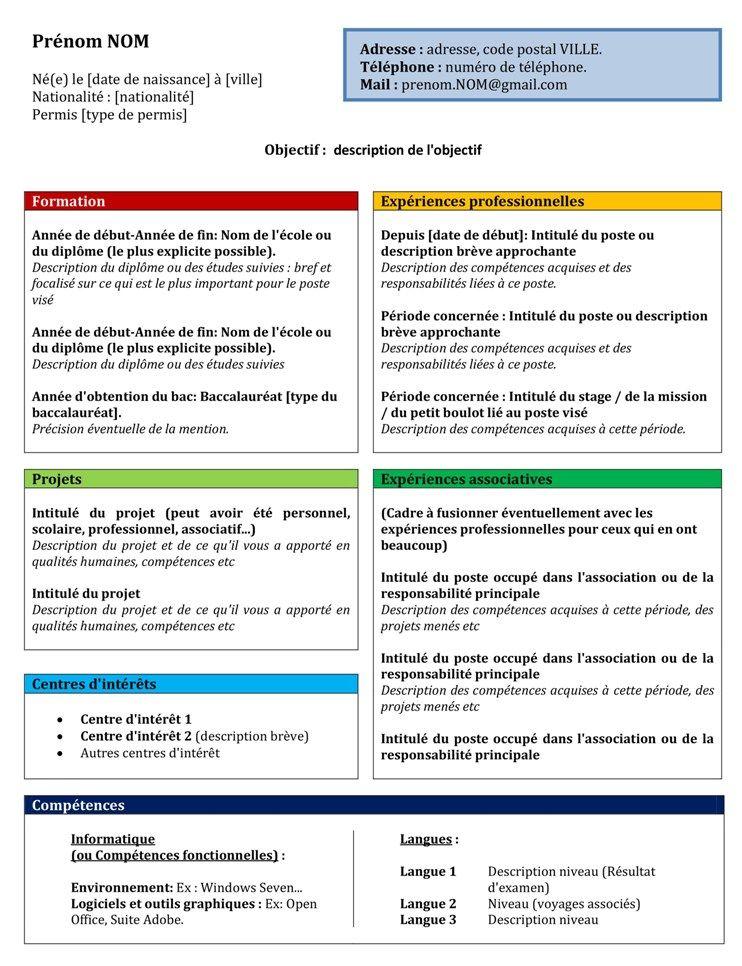 cv de competence modele competenties cv | via agence presstissimo.| Job | Pinterest cv de competence modele