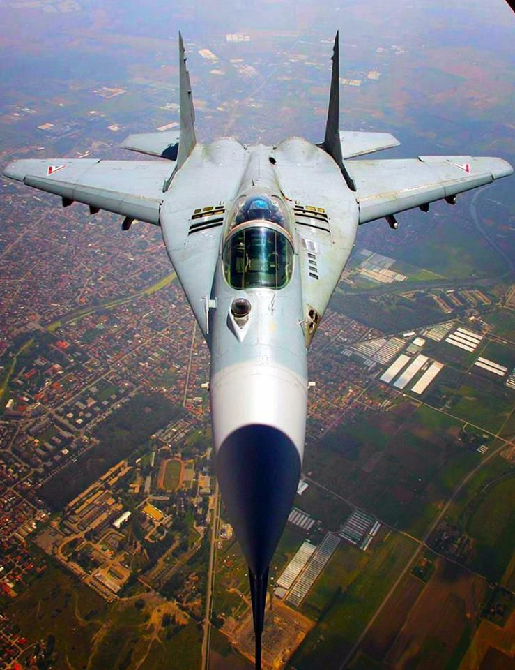 Rides & Aviation — planesawesome: Hungarian Air Force MiG-29B