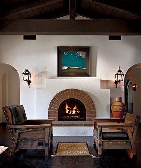 Spanish Colonial Interior Design Ideas: Home Tour: Diane Keaton's Spanish Colonial Residence