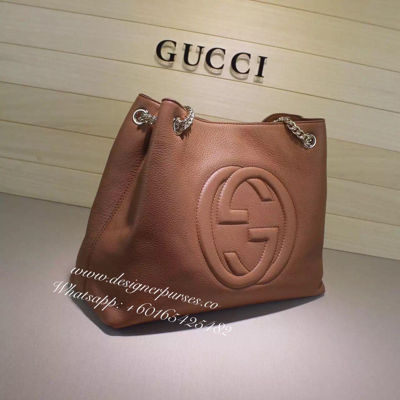 840ed8ecf133 We have Brown now~~~ Gucci soho leather shoulder chain bagOrder  +60165425482 email  designerpursesco gmail.com mybrandcity gmail.com