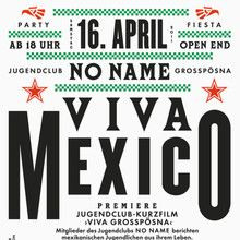 CiteViva MexicoCite Flyer  D E S I G N  Type