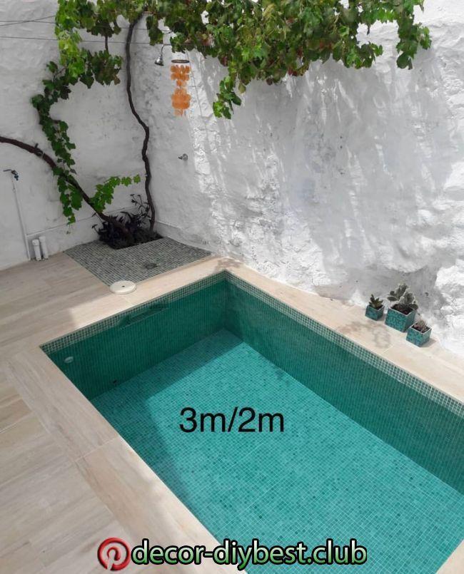 3 2 70cm Tief 70cm Pool Poolfloaties Tief In 2020 Small Backyard Pools Small Pool Design Backyard Pool In 2020 Small Pool Design Backyard Small Backyard