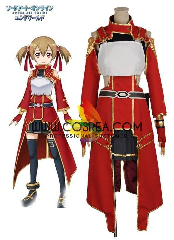 Sword Art Online Silica Battle Cosplay Costume  3699f25c7e16