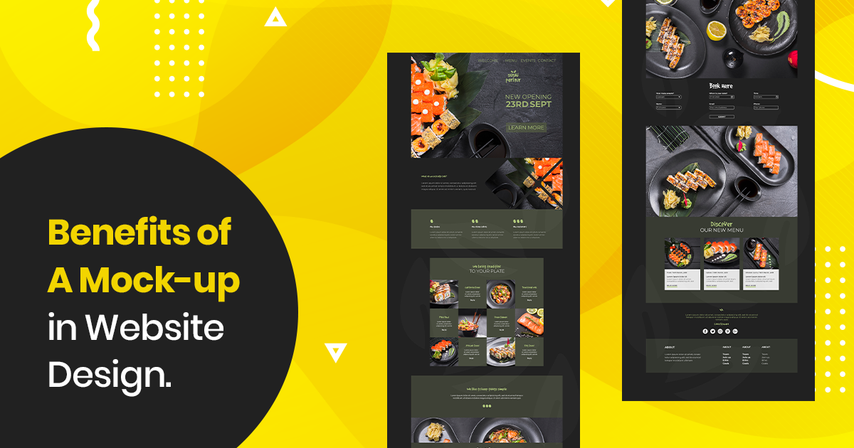What Is Mockup Design What Is Its Significance In 2020 Mockup Design Mockup Website Mockup