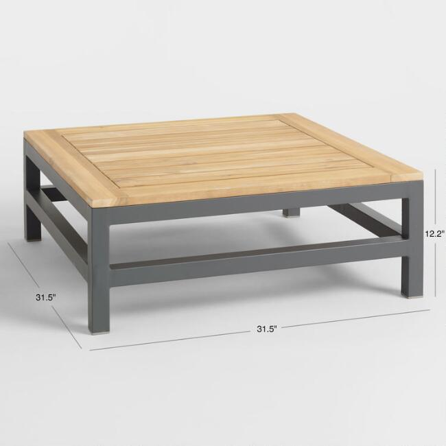 Outdoor Occasional Coffee Table