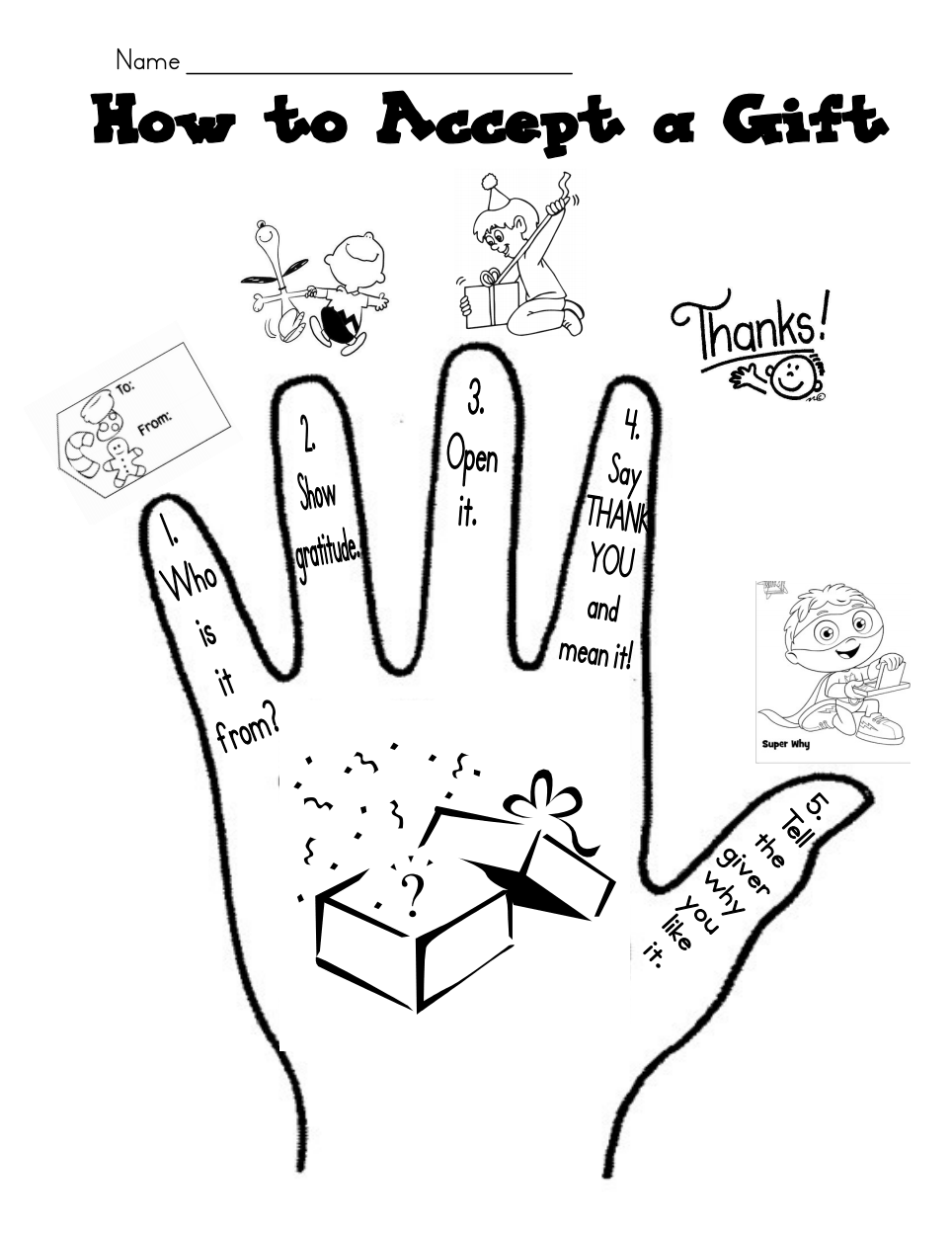 How to Accept a Gift.pdf Gifted lessons, School