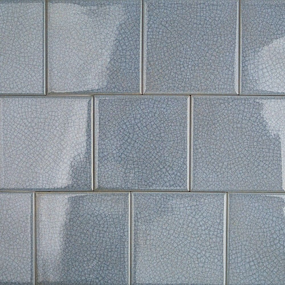 Roman Collection Brisk Blue 4x4 Glass Tile Mosaic Glass Glass Mosaic Tiles Glass Tile