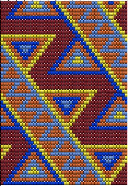 Wayuu Mochila pattern   сумки   Pinterest   Muster, Beutel und ...