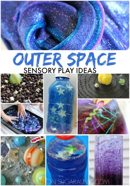 galaxy and outer space sensory activities play activities for kids space activities space. Black Bedroom Furniture Sets. Home Design Ideas