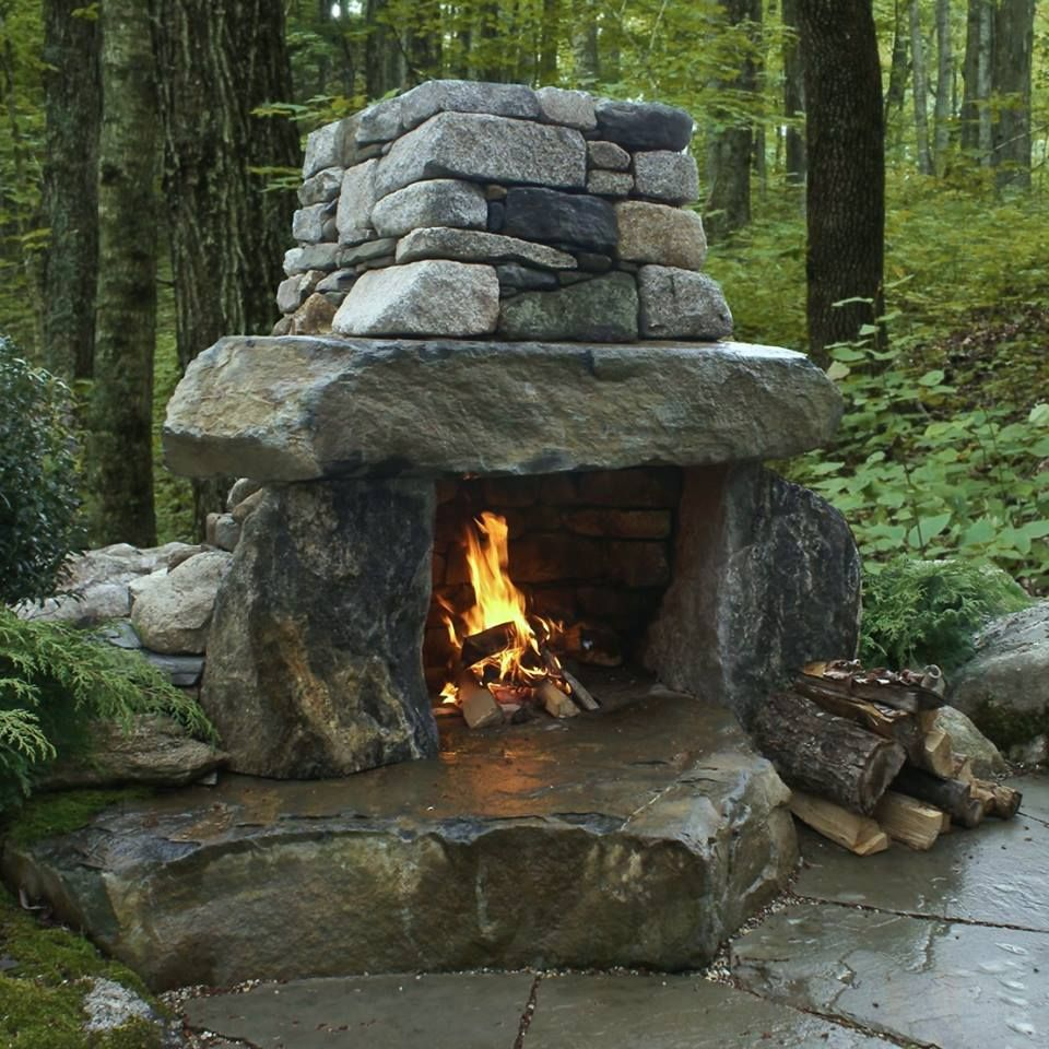 Outdoor Fireplace Design Ideas: Fireplaces, Heaters, Outdoor