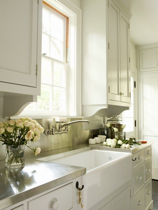 Love This Sink And Faucet Placement Georgian Colonial Custom Home