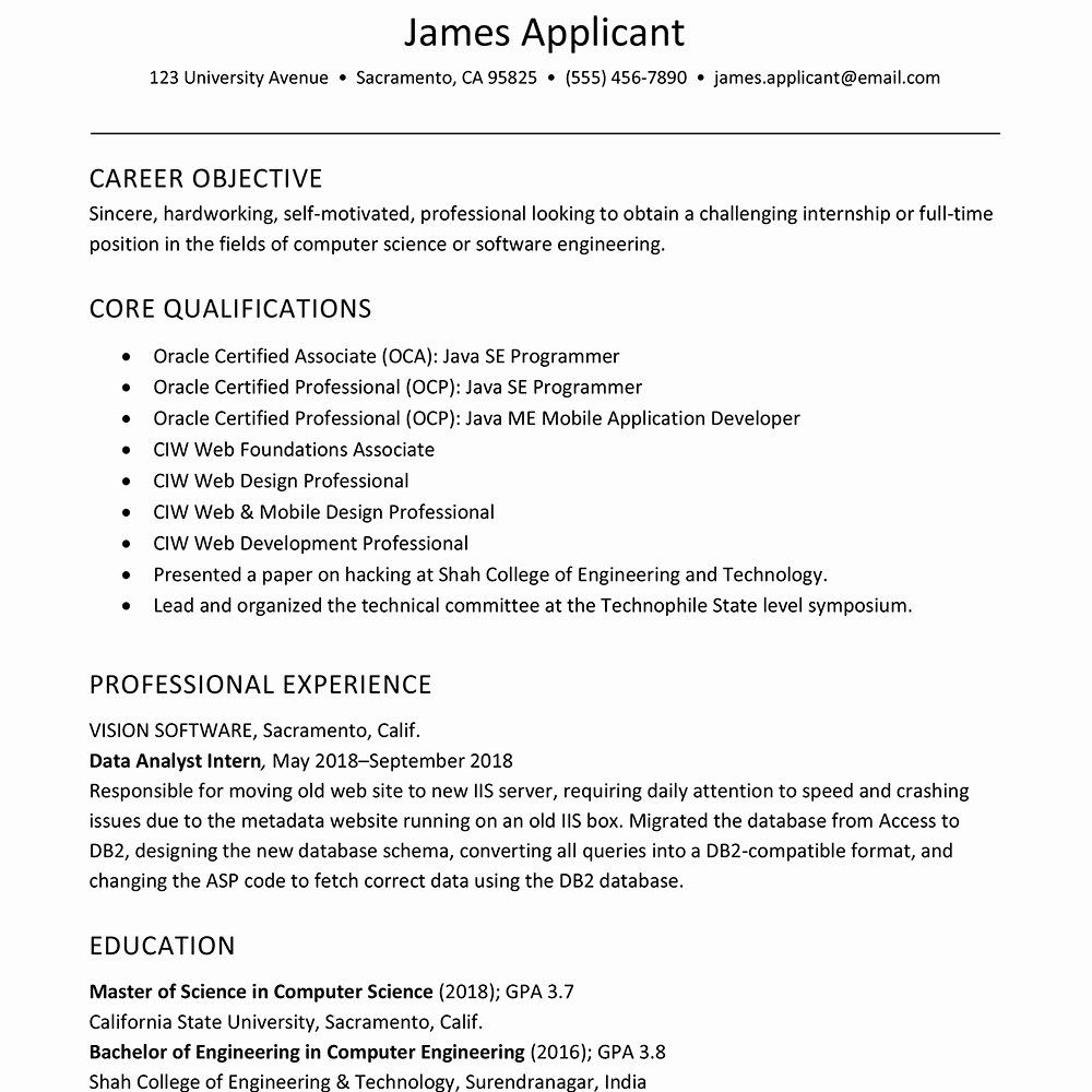 New Nurse Graduate Nursing Resume This will (hopefully