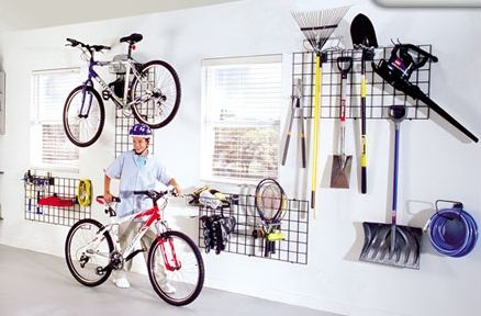 These Grid Walls Provide A Flexible But Sturdy Solution For Many Garage  Storage Needs But Are Nice Enough To Be Used In Other Areas Of Your Home.