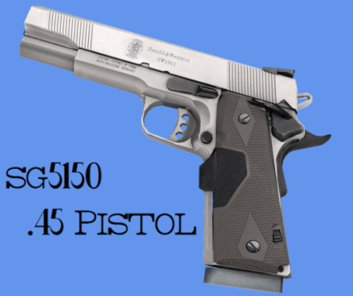 45 Pistol for The Sims 4 by SG5150 | The Sims 4 downloads