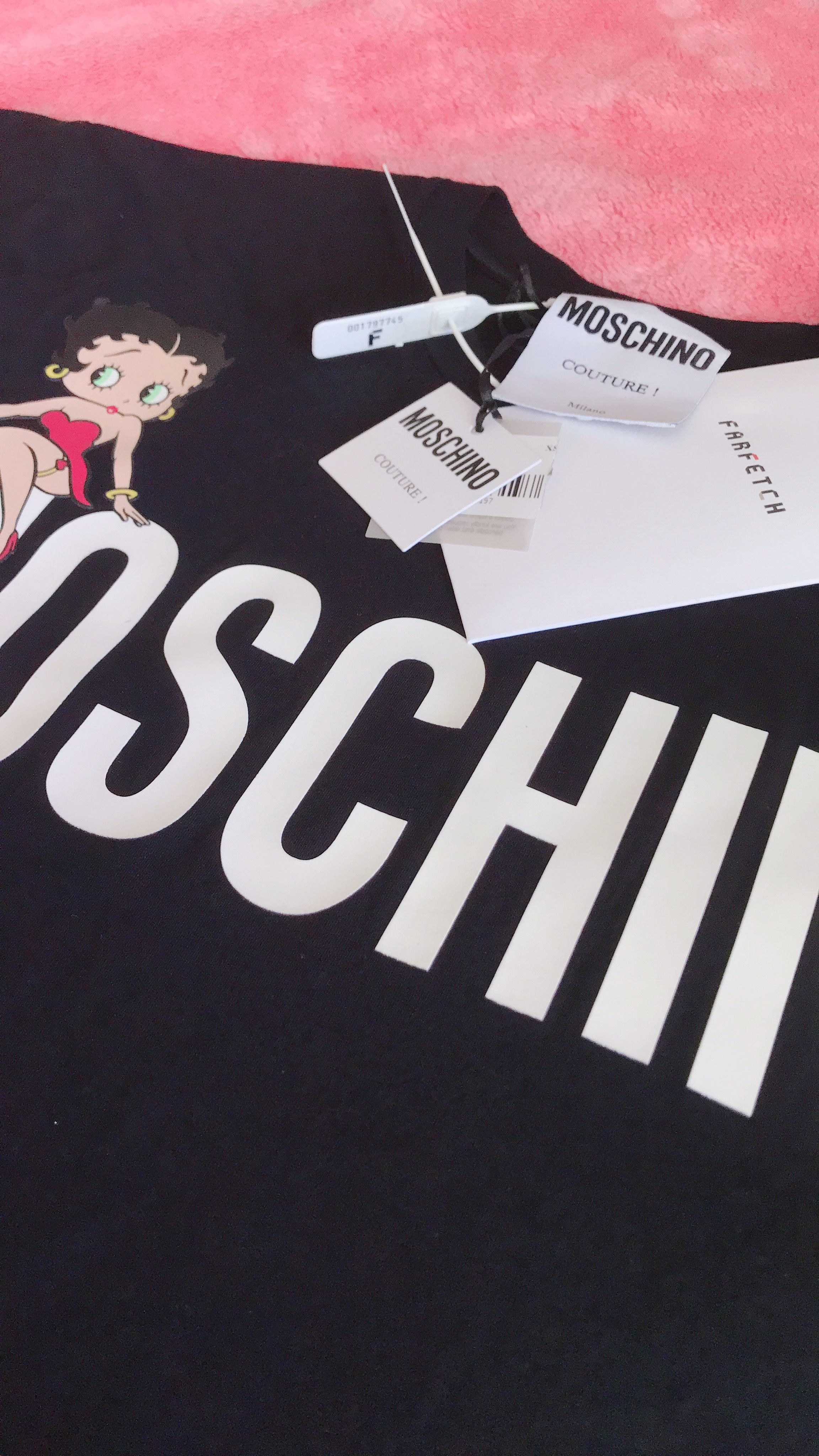 a526d266 MOSCHINO Betty Boop t-shirt from Farfetch   Shopping Brandname ...