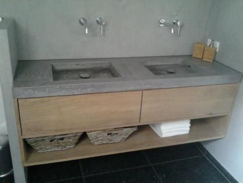 badkamermeubel beton - google zoeken | badkamer | pinterest | search, Badkamer