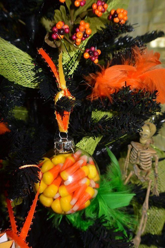 Halloween Christmas Tree & DIY Ornaments | Halloween ...