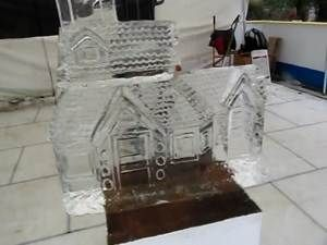 Yahoo! Video Detail for Gingerbread House Live carving Time Lapse IceCreations.co.uk