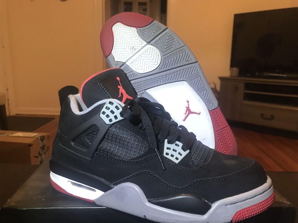 "Nike Air Jordan 4 IV Retro ""BRED 2012"