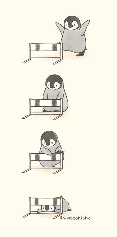 灰崎のペンギンだったら萌える 食品イラスト Dessindessin Style