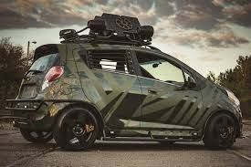 Zombie Wars Or End Of The World This Modified Chevrolet Spark Can