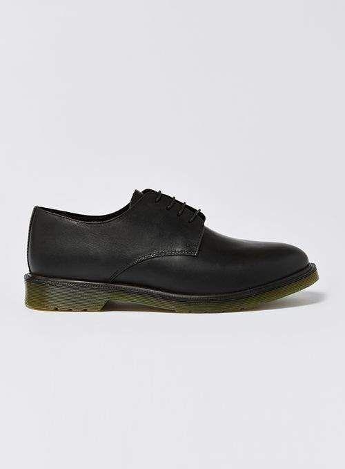 Topman Black Leather Avon Lace Shoes b8894d482