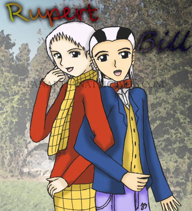 Rupert Bear Anime Style by Arima-Go-Ko on DeviantArt