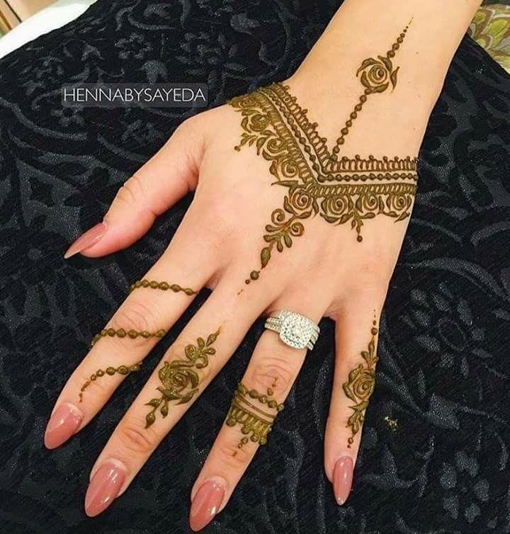 صور نقش الحناء Hand Tattoos Body Art Tattoos Henna Designs