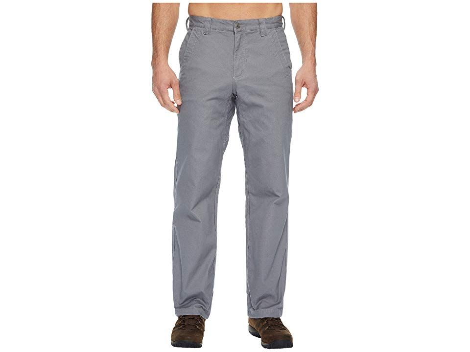 Mountain Khakis Flannel Lined Original Mountain Pants Relaxed Fit Gunmetal Mens Casual Pants Its the one and only Original Mountain Pant redefined Whether youre on the tr...