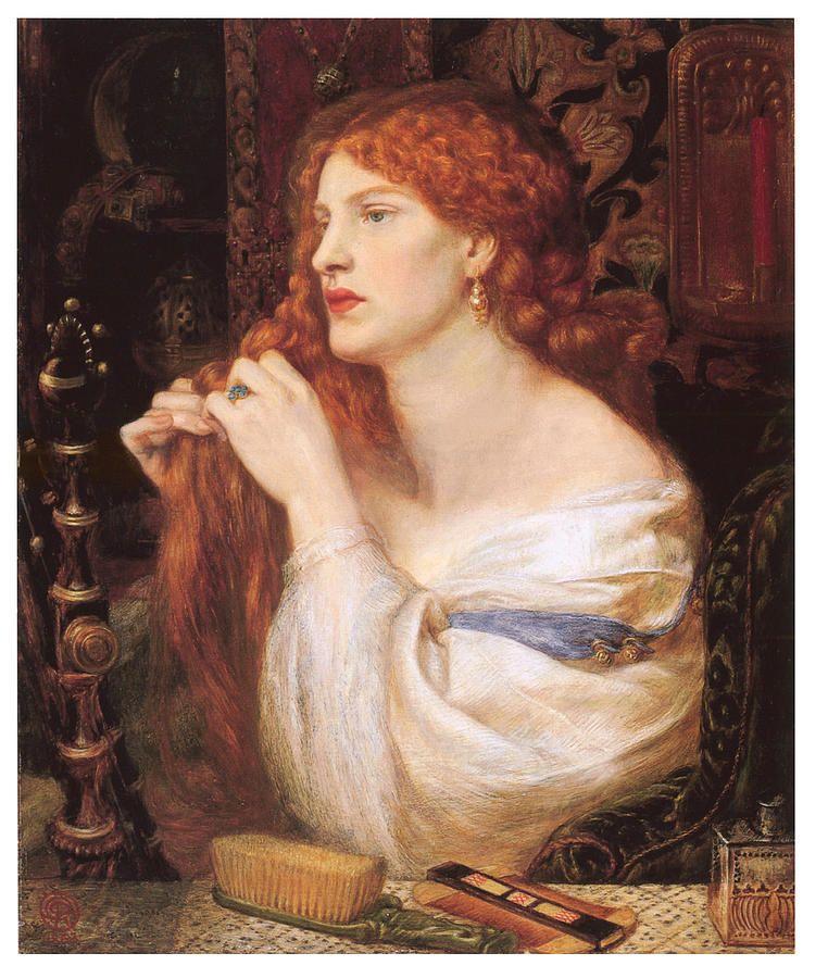 Waterhouse Red Hair Painting Google Search Pre Raphaelite Paintings Pre Raphaelite Art Dante Gabriel Rossetti