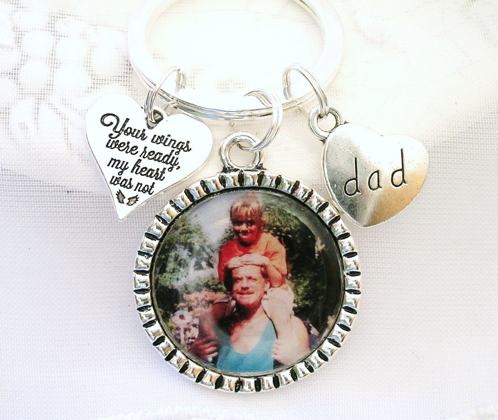 Mom and Dad Memorial Gifts Mom and Dad Mom and Dad Loss Together is a Wonderful Place to Be Keychain Dad and Mom Sympathy Gifts
