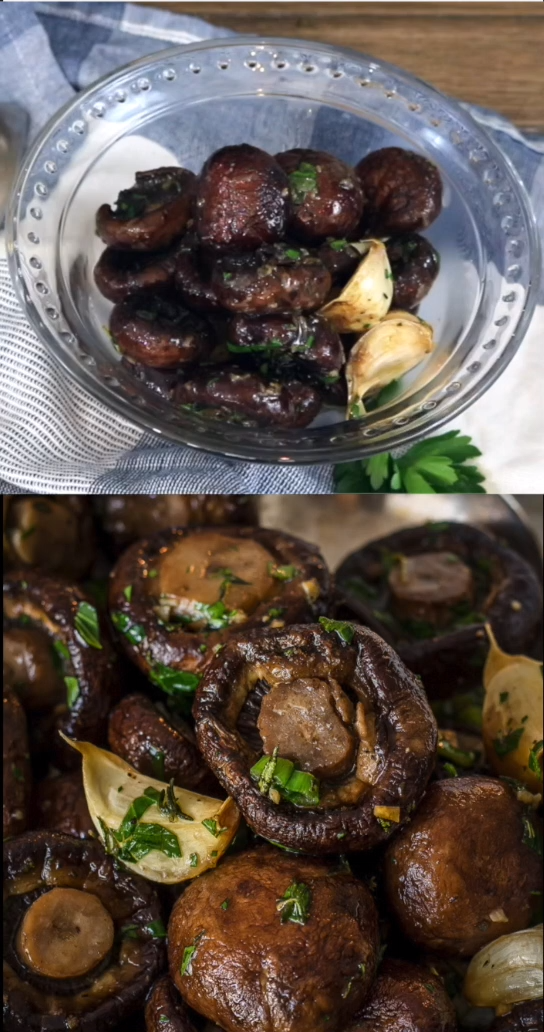 Photo of Roasted Mushroom in Garlic Butter Sauce (20 M
