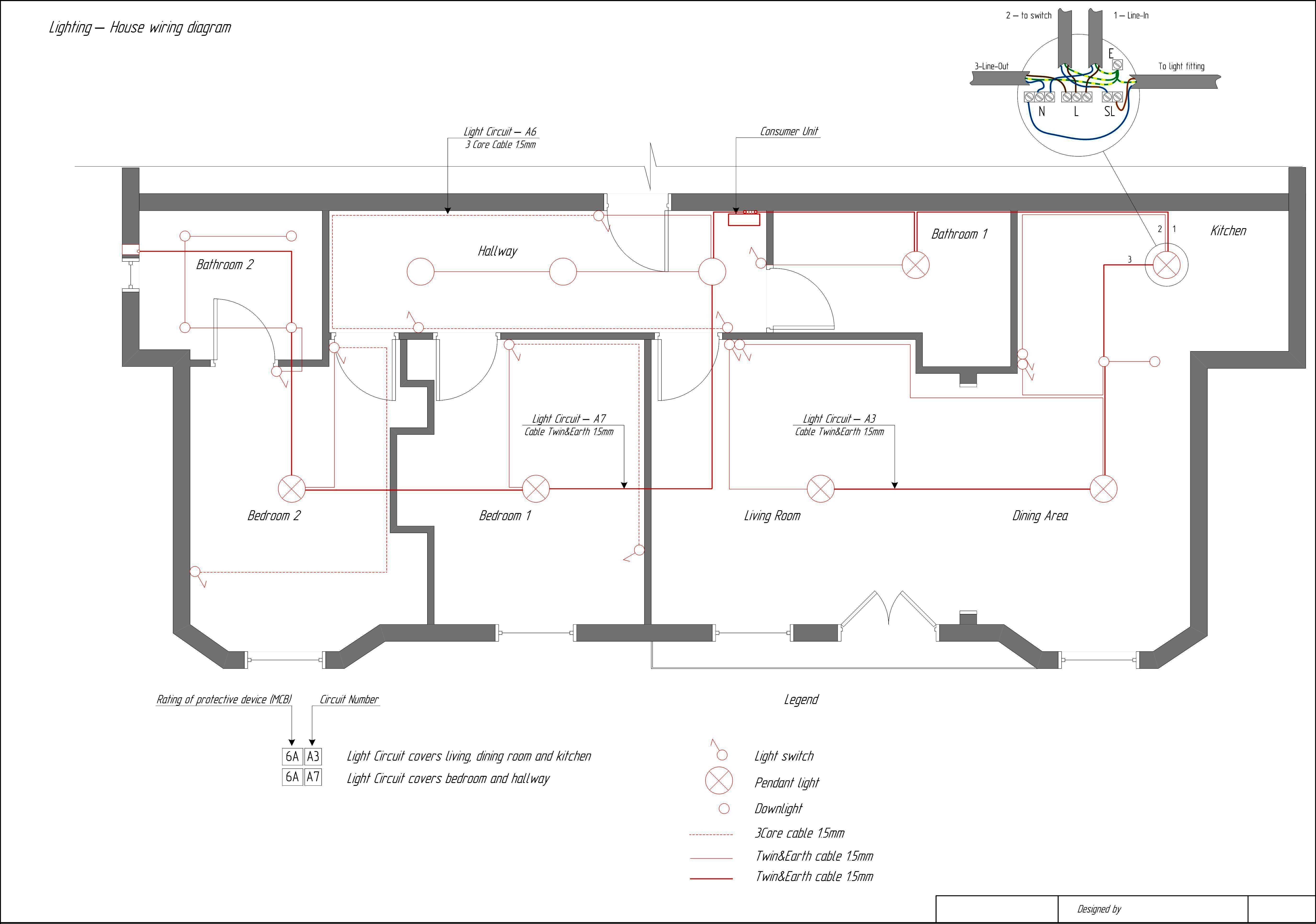 Household Electric Circuit New Typical House Wiring Circuit Diagram Wiring  Diagram Add   House wiring, Electrical circuit diagram, Electrical wiring  diagramPinterest