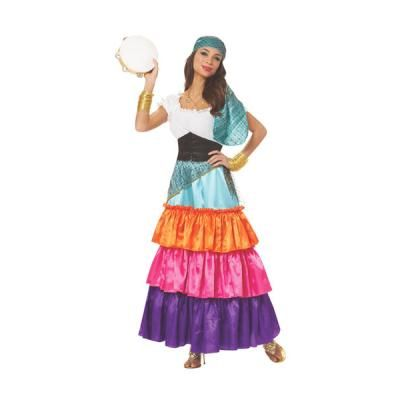 Cute and Colorful Womenu0027s Bohemian Gypsy Costume  sc 1 st  Pinterest & Cute and Colorful Womenu0027s Bohemian Gypsy Costume | Halloween ...