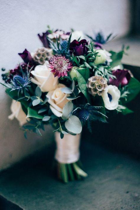 30 Winter Brautsträuße, die Sie Lieben werden — Modekreativ.com