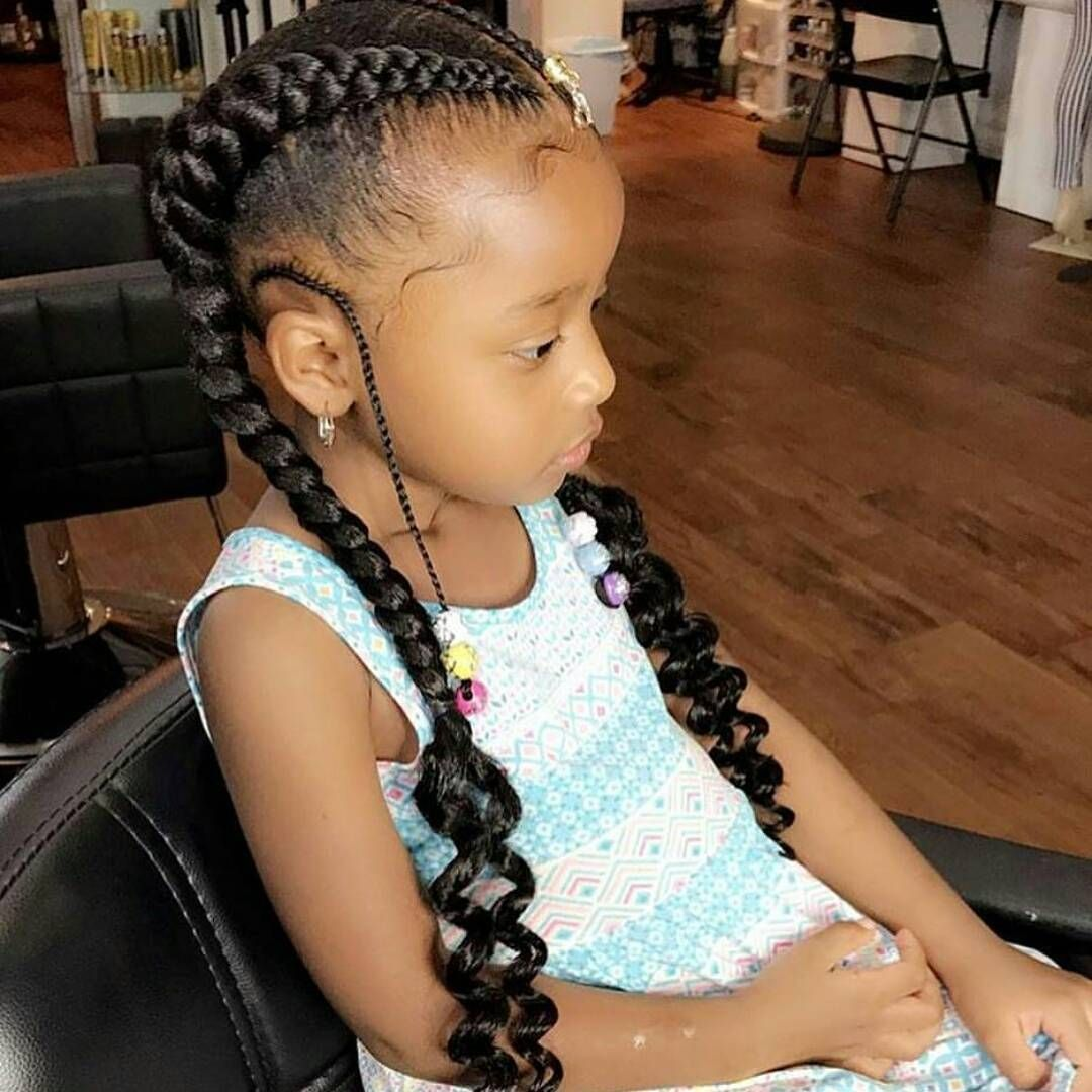 Slayed Girl With Images Girls Hairstyles Braids Baby Girl