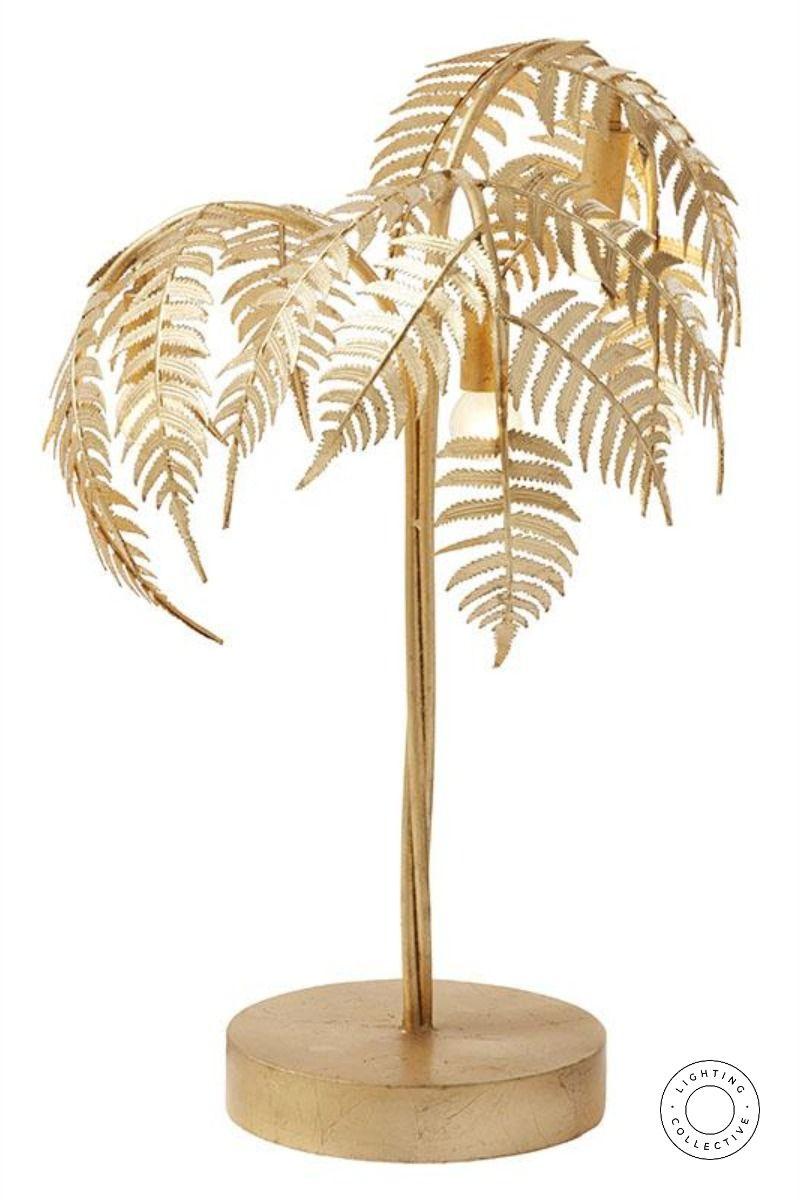 Gold Leaf Palm Table Lamp Tree Floor Lamp Lamp Floor Lamp